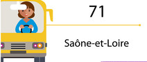 Transports scolaires - 71
